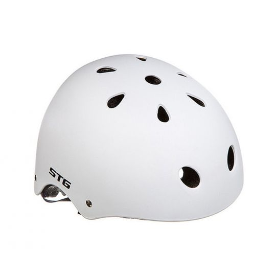 Шлем STG MTV12, размер M, белый, с фикс застежкой