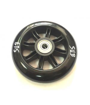 Колесо для трюкового самоката SUB, пластик, с подшипником ABEC 9, 100 мм, черный