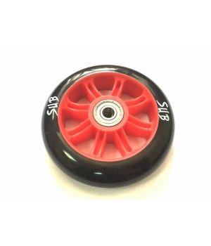 Колесо для трюкового самоката SUB, пластик, с подшипником ABEC 9, 100 мм, красный
