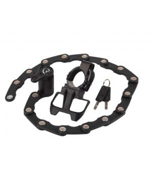 Велозамок RFR, складной, M, черный