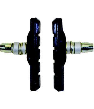 Тормозные колодки Promax, с крепежом, ассиметричные, 70 мм