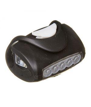 Фонарь передний STG BC-RL8010 силиконовый, черный