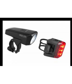 Комплект фонарей Cube Beleuchtungsset PRO 25