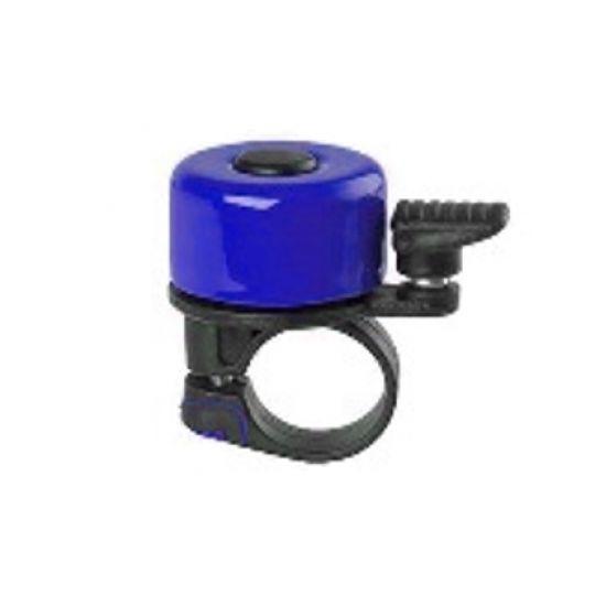 Звонок мини, алюминий/пластик, синий VAL-YF+звонок -65