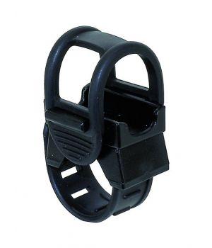 Держатель/крепление M-Wave, универсальный, для фары/насоса/плеера/смартфона, на руль, черный