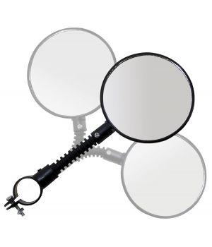 Зеркало плоское, круглое 84 мм, стекло, кольцевое крепление