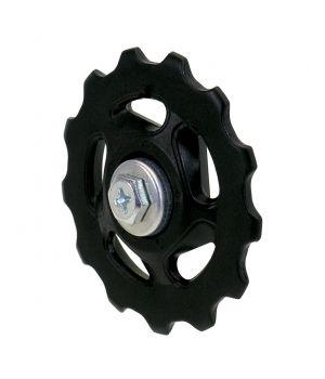 Ролики переключателя малые 40 мм, 10 зуб, черные