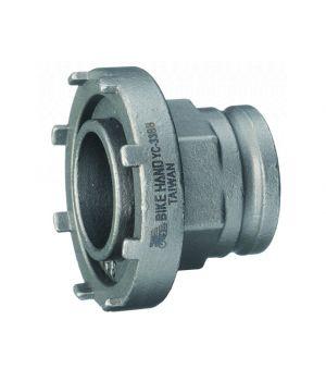 Съемник прижимного кольца электропривода Bosch Bikehand YC-33BB, d60mm, для электро велосипедов, серебро
