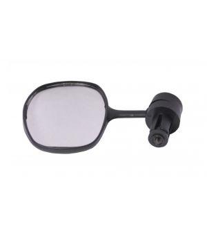 Зеркало овальное 50*90 мм, панорамное, черное