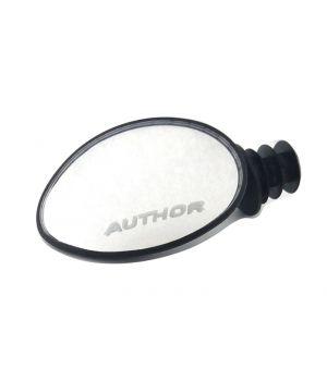 Зеркало Author AM-70 овальное 70 мм, панорамное, черное