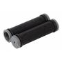 Грипсы STG 120 мм, серо-черный